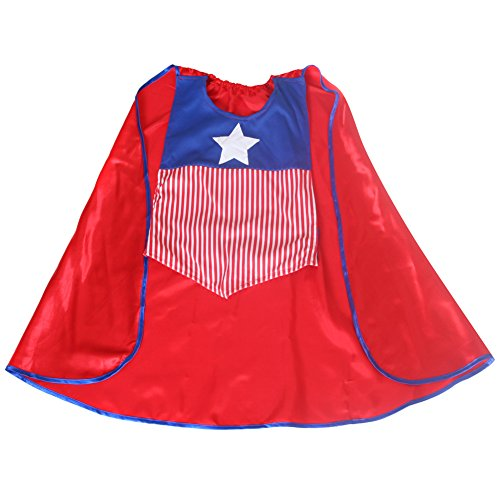 [Storybook Wishes American Hero Smock Cape] (Heroes And Villains Dress Up)