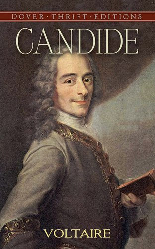 Book cover for Candide