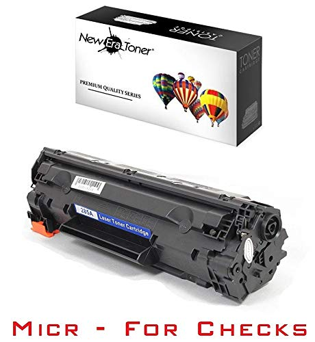 (New Era Toner - 1 Compatible MICR Toner Cartridge Replacement for HP CE285A (85A) for LaserJet Pro P1102, P1102w, M1130, M1132 MFP, M1134 MFP, M1136 MFP, M1137, M1138, M1139, M1210, M121, M1212nf, M1213nf, M1214nhf, M1216nfh, M1217nfw, M1219nf Printers)