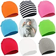 YJWAN Toddler Infant Baby Beanie Soft Cute Cotton Unisex Lovely Boy Girl Knit Cap Hat