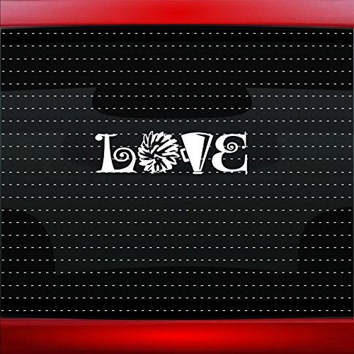 I Love Cheer #1 Cheerleading Family Mom Dad Car Sticker Truck Window Vinyl Decal COLOR: GOLD