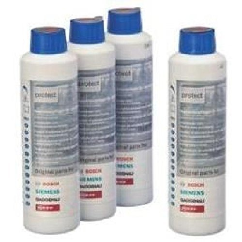 Bosch 00311566 Dishwasher Care Cleaner, 4 x 250 ml Bosch (BOSGT)