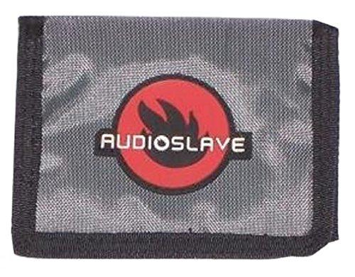 AUDIOSLAVE - Flame Logo - Nylon Velcro Wallet