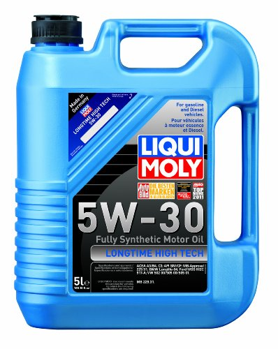 Liqui Moly 2039 Longtime High Tech 5W-30 Synthetic Motor Oil - 5 Liter -