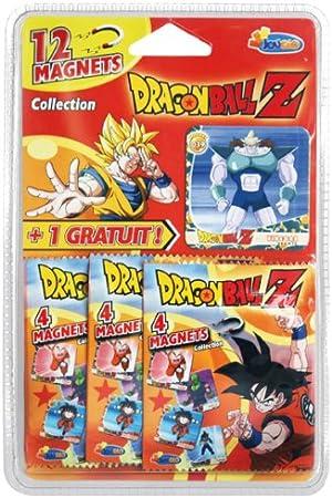 Jouceo - Dragon Ball Z - DIVJOU001 - Imanes de colección (12 imanes + 1 de Regalo): Amazon.es: Juguetes y juegos