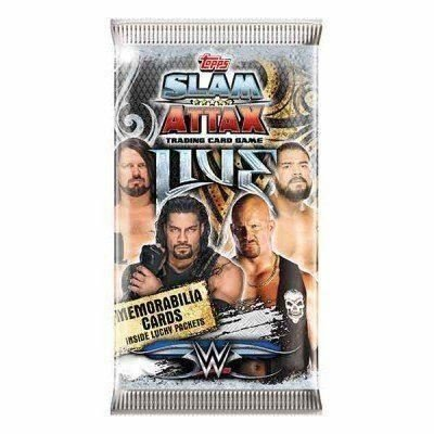 Click Distribution WWE Slam Attax Live Trading Cards X10 by Click Distribution