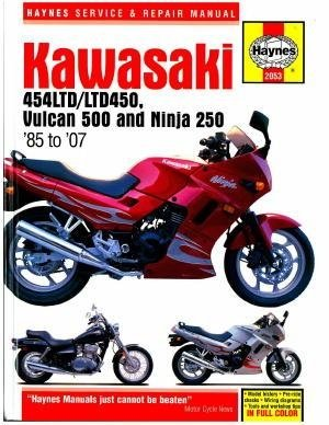 amazon com kawasaki en450 and 500 twins haynes repair manual 1986 rh amazon com 2009 ninja 650r service manual pdf 2009 ninja 650r repair manual
