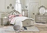 #9: Jessica Silver 5 Pc. Full Bedroom