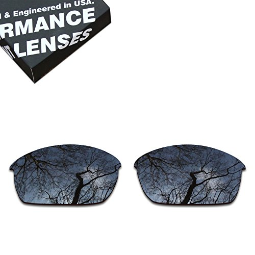 (ToughAsNails Polarized Lens Replacement for Oakley Flak Jacket Sunglass - More Options)