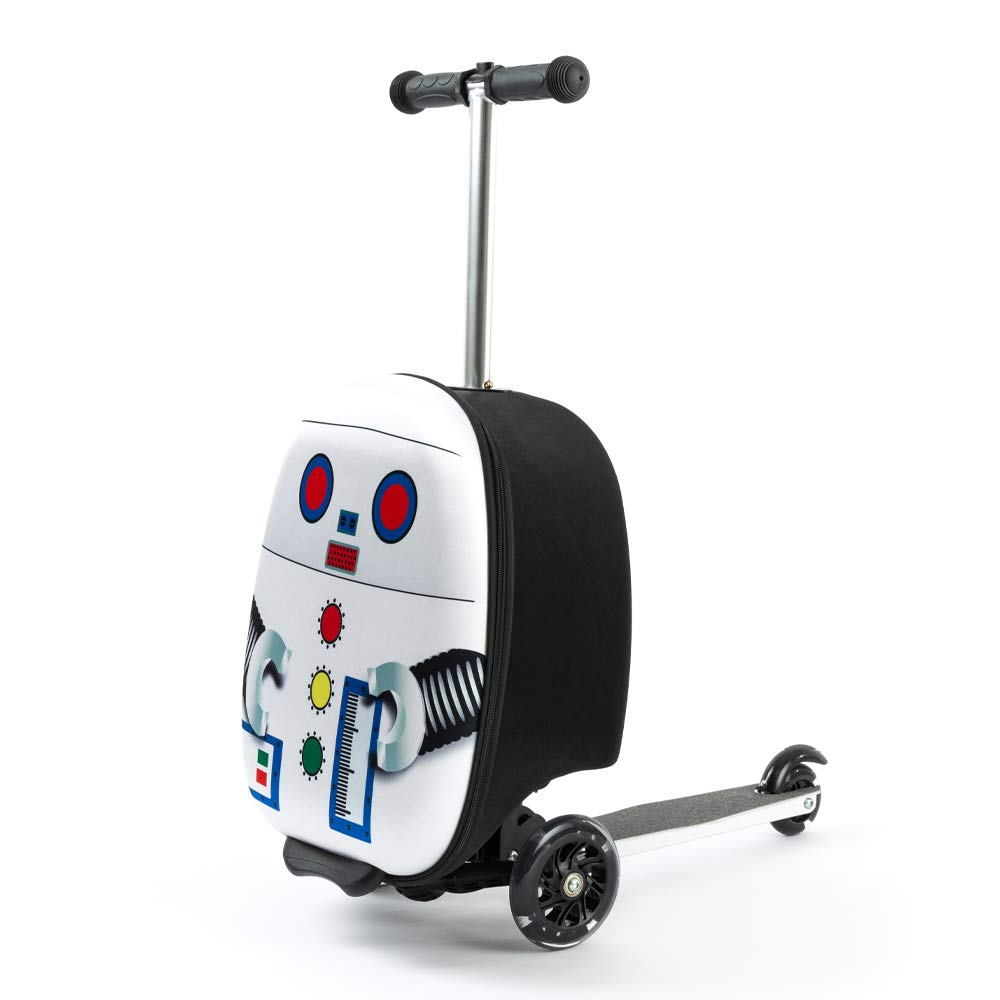 "Kiddie Totes 19"" Hardshell Carry-on Scooter Suitcase"