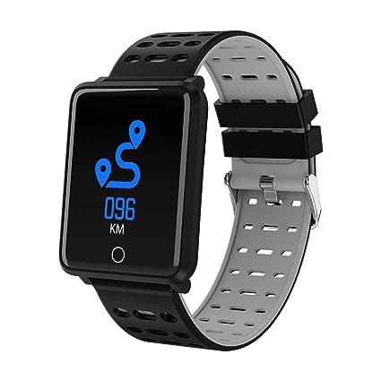 Amazon.com: Reloj inteligente oineke con contador de pasos ...