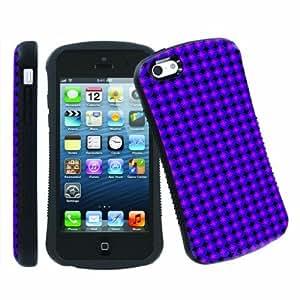 LJF phone case [ArmorXtreme] Apple iphone 4/4s Ultra Shock Absorbent Tough Designer Case [Bomb Purple]