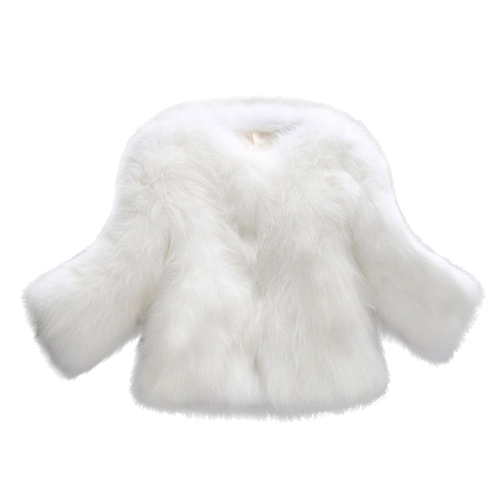 DongDong✫Women Stylish O Neck Thick Fluffy Faux Fur Oversized Elegant Thick Warm Parka Outerwear Wedding Jacket Coat at Amazon Womens Clothing store: