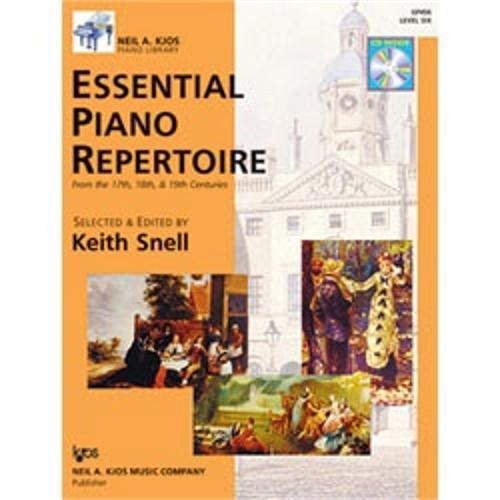 Essential Piano Repertoire - GP456 - Essential Piano Repertoire of the 17th, 18th, & 19th Centuries Level 6