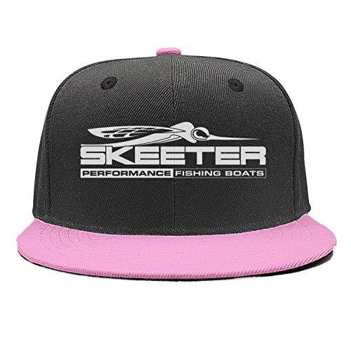 Unisex Womens Skeeter-Performance-Bass-Boats-Logo-Pink Trendy Baseball Fishing Cap Hat