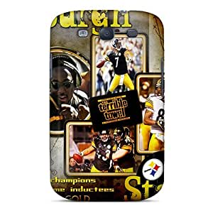 High Grade GAwilliam Flexible Tpu Case For Galaxy S3 - Pittsburgh Steelers