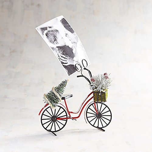 Pier 1 Imports Vintage-Style Holiday Bike with Tree - Photo Clip Frame by Pier 1 Imports