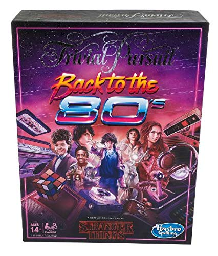 Hasbro Trivial Pursuit Netflix's Stranger Things Back to The 80s Edition: Adult and Teen Party Board Game