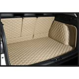 Custom Fit Carpet Liners Full Covered Trunk Mats for AUDI Q3 Color Beige