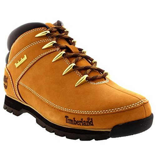 Timberland Mens Euro Sprint Hiker Wheat Leather Boots 8.5 US