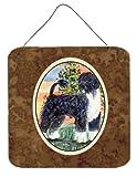 Caroline's Treasures SS8855DS66 Portuguese Water Dog Aluminum Metal Wall or Door Hanging Prints, 6 x 6