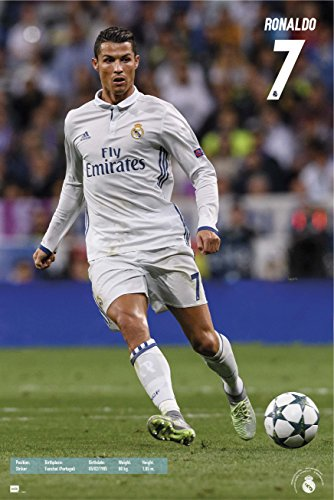 Cristiano Ronaldo and Gareth Bale Action Poster | 2-Pack Set | Close-Out Value!