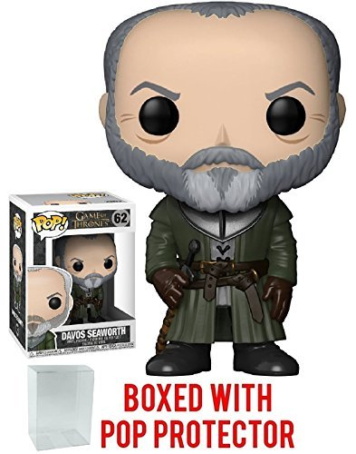 Funko Pop! Game of Thrones: GOT - Davos Seaworth #62 Vinyl F
