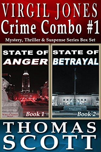 Mystery Thriller Suspense: Virgil Jones Novels: State of Anger & State of Betrayal Box Set