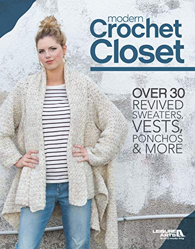 Pattern Crochet Purse - Modern Crochet Closet: Over 30 Revised Sweaters, Vests, Ponchos & More