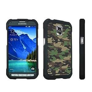 DuroCase ? Samsung Galaxy S5 Active SM-G870A Stylish Hard Case Black - (Brown Camo)