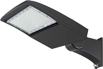 UL DLC LED parking lot shoebox area Light 150W 300W 5700K Daylight IP65 street