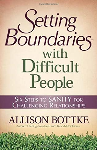 book cover of Setting Boundaries with Difficult People