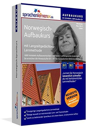 Norwegisch-Aufbaukurs: Lernstufen B1+B2. Lernsoftware auf CD-ROM + MP3-Audio-CD für Windows/Linux/Mac OS X. Fließend Norwegisch lernen für Fortgeschrittene mit Langzeitgedächtnis-Lernmethode