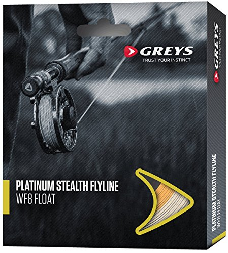 Greys Platinum Stealth Fly Line Weight Forward 6 Floating Fishing