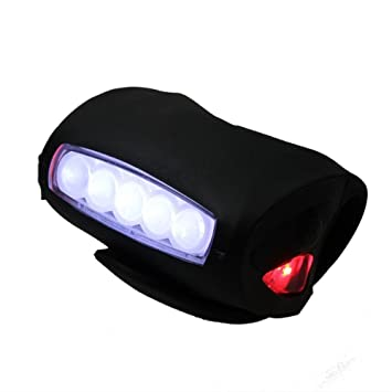 Amazon.com: kneerover 7 LED Seguridad Head Light Super ...