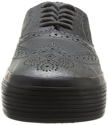 Urban Walk Vector - Zapatos de cordones de cuero para mujer gris Gris (Powder Steal) 40 jxuR4g6
