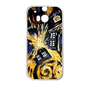 Magical oil painting house Cell Phone Case for HTC One M8