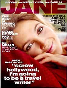Jane Magazine - March 2007 - Drew Barrymore Cover: Jane Pratt: Amazon