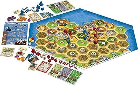 Catan: Cities and Knights - Escenario de la leyenda de los conquistadores: Amazon.es: Juguetes y juegos