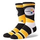 Best Stance Toe socks - Stance M548D18STE Men's Steelers Retro Sock, Yellow Review