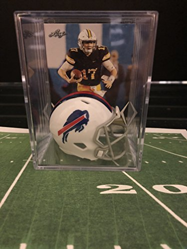 Buffalo Bills NFL Helmet Shadowbox w/Josh Allen card