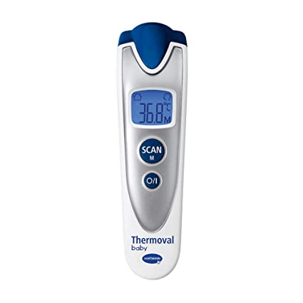 Hartmann THERMOVAL bebé termómetro + libre sonajero