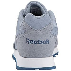 Reebok Women's Classic Harman Run Sneaker, Rain Cloud/Washed Blue/White, 7 M US