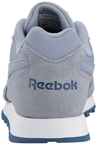Reebok Kvinners Klassiske Harman Løp Sneaker Regn Sky / Vasket Blå / Hvit