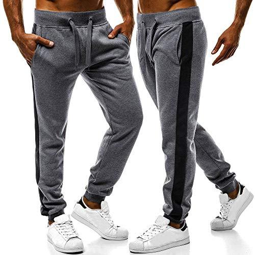 De Gris Longue Fit Pants Slim Running Workout Taille Élastique Jogging Pantalon Jogger Solike Gym Homme Bas foncé 1 Sportwear Décontracté Survêtement Sport Sweatwear tAwSwfxnqR