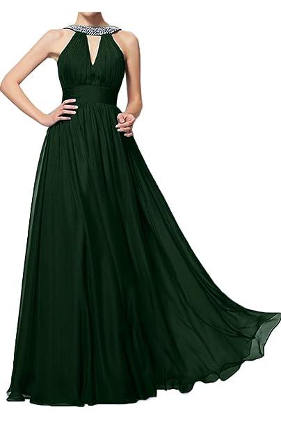 ivyd ressing Mujer Estilo Completo A de línea piedras fijo vestido largo Prom vestido Fiesta Vestido