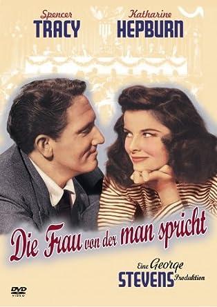 Die Frau Von Der Man Spricht Amazonde Spencer Tracy Katharine