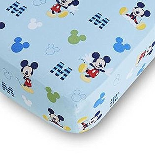 Disney Baby Mickey Mouse Fitted Crib -