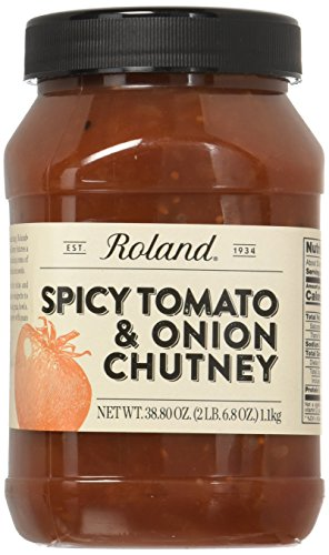 Roland Foods Spicy Tomato & Onion Chutney, 2.4 Pound