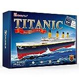 "CubicFun RMS Titanic Model Cruise Ship 31.5"" 3D"